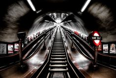 """Urban photography - """"Ascend from the Depths"""" by Aaron Yeoman available at Great BIG Canvas."""