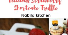 A blog about the most complete food recipes. Strawberry Shortcake Truffle, Whipped Cream Frosting, Beef Enchiladas, Angel Food Cake, Wax Paper, Other Recipes, Melting Chocolate, Grocery Store, Truffles