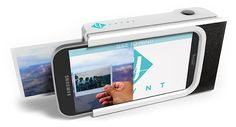 Polaroid-style phone case