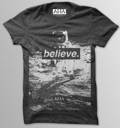 Believe Vintage Black Tri-Blend T-Shirt