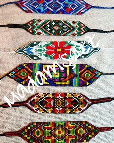 American Art, Beading Patterns, Loom, Mandala, Beaded Bracelets, Photo And Video, Crafts, Jewelry, Loom Bracelets