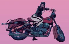 """Café Racer"" by Robert Sammelin*  • Blog/Website 