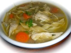 Grandma's Homemade Chicken Noodle Soup