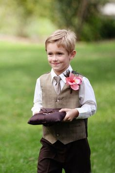 Little Men Ring Bearer Outfit Help Weddingbee Boards This Is The Perfect Tweed With