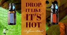 """Drop it like it's hot! It's like fire and ice and a stimulating experience. Full disclosure is smells similar to """"Big Red Gum"""" which I always liked   #enjoy #diffuserblend"""
