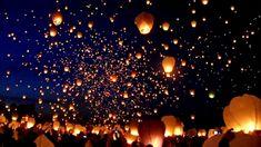 8,000 Floating Lanterns