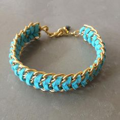 Hermina wristwear & more: Suede Friendship Bracelet