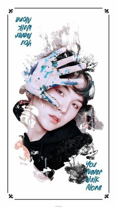 Suga YOU_NAVER_WALK_ALONE Wallpaper