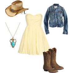 Two-Steppin', created by #carliekaye on #polyvore. #fashion #style H #Ariat