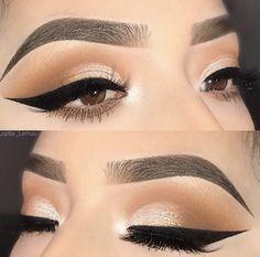 Gorgeous Makeup: Tips and Tricks With Eye Makeup and Eyeshadow – Makeup Design Ideas Eye Makeup Designs, Eye Makeup Art, Fall Makeup, Eye Makeup Tips, Smokey Eye Makeup, Makeup Goals, Makeup Videos, Skin Makeup, Makeup Inspo