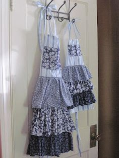 special matching aprons