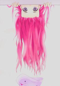 my edits kawaii vocaloid pink hair Anime girl megurine luka ...