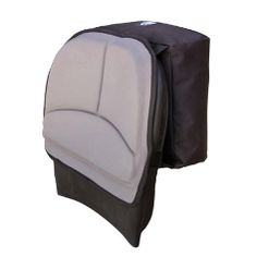 Tour Back Rest with Pack - Kayak Seat Back Cushion : The Tour Back Rest with Pack from Surf to Summit was specifically designed for the Tarpon series of boats, but the molded in cavity of this back rest attaches securely to almost any plastic back rests. In tandem with the Tour Bottom Pad, this set offers owners of recreational and closed-deck touring kayaks a great way to increase your kayak comfort.