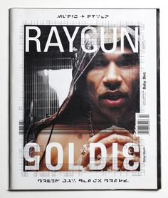 Ray Gun Magazine 53 - Goldie Cover - February 1998 | eBay