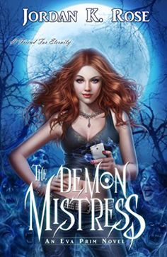 The Demon Mistress by Jordan K. Rose | books, reading, book covers, cover love, the moon