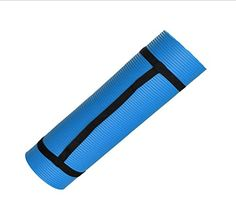 14 Inch Anti Slip Exercise Yoga Mat with Carrying Strap