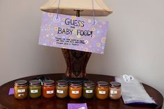 """Photo 11 of 17: Girl purple baby shower / Baby Shower/Sip & See """"Life is Sweet """"   Catch My Party"""