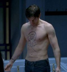 Down a Stone or so, yet, still compelling. Richard Armitage, Season 7 Spooks as LucAs North.