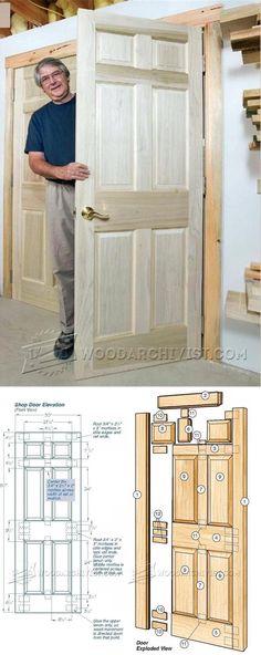Making Door - Door Construction and Techniques | WoodArchivist.com