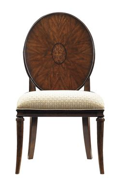 Dining Room Furniture - Avalon Heights - Starburst Side Chair