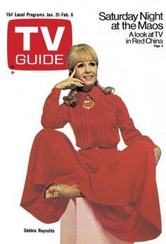 TV Guide, January 31, 1970. Debbie Reynolds