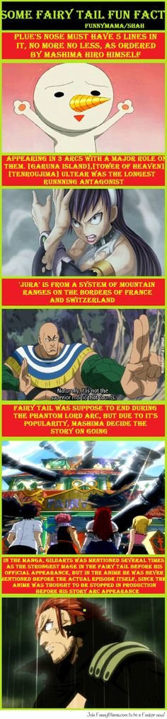 Some Fairy Tail Fun Fact
