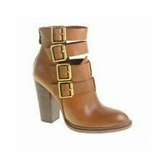 Gadget Ankle Boot | 27 Boutique  The Gadget Ankle Boot from Chinese Laundry. Super chic leather ankle boots with 4 buckled straps.