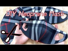 EASY DIY Neoprene FaceMask / Cut Fabric / Mask Pattern (Adulti e bambini) / Semplice e facile - EASY DIY Neoprene FaceMask / Cut Fabric / Mask Pattern (Adulti e bambini) / Semplice e facile – Y - Easy Face Masks, Diy Face Mask, Sewing Patterns Free, Free Sewing, Free Pattern, Pattern Fabric, Sewing Diy, Tissu Neoprene, Neoprene Face Mask