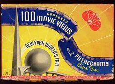 1939 New York World's Fair Souvenir - Film Strip and Viewer..