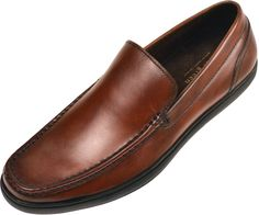 Asher Green Mens Tan Genuine Leather Moc Toe Slip On Dress Shoe with Black Rubber Sole: Style Finlay-028 Asher Green Presents Style Finlay: Tan Slip On Dress Shoe with Bike Track Styling!This Contemporary Casual Shoe features a supple Leather upper and cushioned Black Rubber Sole!Slip your feet into a pair of Comfortable AND Classic Everday … #classic #mens #mensfashion #shoes #leather