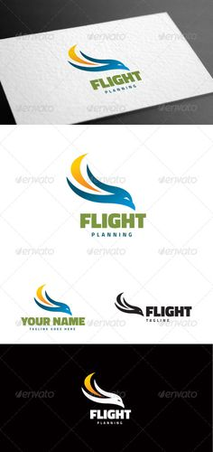 Eagle Flight Logo Template ...  active, agency, alert, brand, business, clean, computer, consulting, creative, dynamic, eagle, flight, identity, logo, logotype, modern, plate, power, professional, protection, risk, secure, security, service, speed, startup, unique, view, web