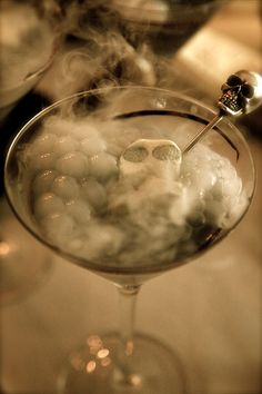 The perfect halloween martini