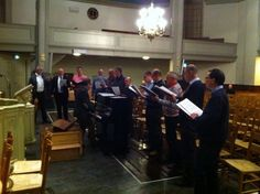 Ichthus Mannen-Ensemble (IME) - 1e repetitie januari 2014