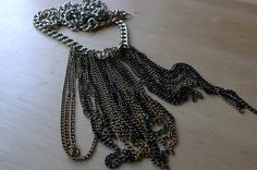 Arya tassel chains necklace by Isis