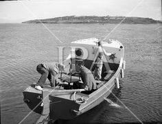 Lord Mountbatten boating at Mullaghmore. see more photos at: www. Admiral Of The Fleet, Photo Archive, Boating, More Photos, Ireland, Irish, Lord, Ship, Street