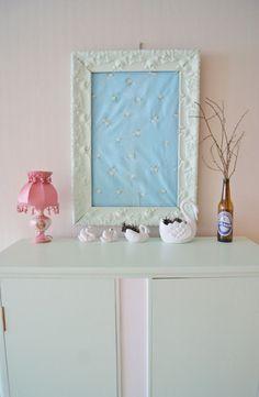 Bathroom Lighting, Vanity, Mirror, Furniture, Home Decor, Bathroom Light Fittings, Painted Makeup Vanity, Homemade Home Decor, Lowboy