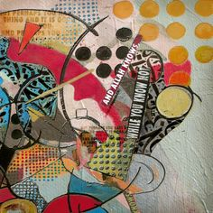 "Saatchi Art Artist: Corporate Art Task Force; Oil 2014 Painting ""Contemporary Islamic Art 15 B"""