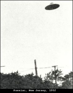 New Jersey residents were terrified when suddenly attacked by a giant, flying sombrero in 1952...