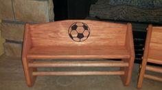 New Soccer Logo Soccer Bedroom, Medal Displays, Soccer Logo, Rack Shelf, Crafts, Football Bedroom, Manualidades, Handmade Crafts, Craft