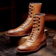 winchester 1000 mile brogue boot