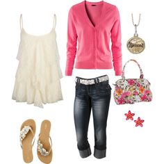 Casual spring outfit :) love the shoes