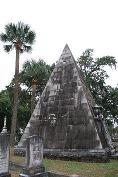 magnolia cemetery - charleston sc. every graveyard needs a pyramid.