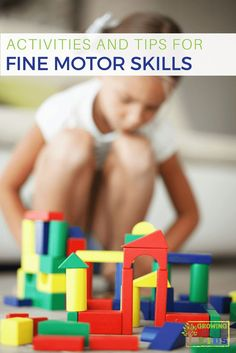 Activities for Fine Motor Skill Development for kids of all ages.  via @growhandsonkids