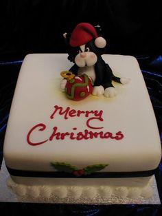 Christmas Cake Designs Novelty : christmas cake christmas cake with penguins Flickr ...