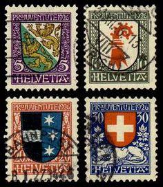 Swedish heraldry issues of 1926.