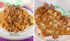 Mraveniště – Snadný, nepečený dort, hotový za 10 minut Krispie Treats, Rice Krispies, Banana Bread, Menu, Recipes, Cakes, Menu Board Design, Cake Makers, Recipies
