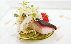 ideas Private Plates, Black Cod, White Truffle, Vinaigrette, Tuna, Truffles, Zucchini, Salad, Fish