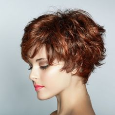 wanna give your hair a new look? Short shag hairstyles is a good choice for you. Here you will find some super sexy Short shag hairstyles, Find the best one for you, Short Shag Hairstyles, Haircuts For Curly Hair, Short Hair With Bangs, Short Hairstyles For Women, Curly Hair Styles, Cool Hairstyles, Short Haircuts, Thick Hair, Wispy Bangs