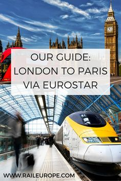 Traveling from London to Paris is fast & easy on-board Eurostar. Find things to do in London and Paris and learn how to travel between the cities by train. Places To Travel, Travel Destinations, Places To Visit, Holiday Destinations, European Vacation, European Travel, Versailles, Rail Europe, Louvre