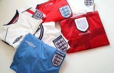 #england #threelions #football #soccerjersey #nike #umbro #englandteam #jersey #vintage #90s England Euro 2016, England Top, Euro 1996, Euro 2012, Crawley Town Fc, Sheffield Fc, England Cricket Shirt, Jersey France, Northampton Saints